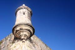 Fortaleza del EL Morro en San Juan viejo Foto de archivo