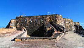 Fortaleza del Felipe fotos de archivo