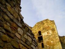 Fortaleza del fuerte de la pared de piedra fotografía de archivo libre de regalías