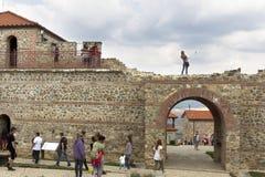 FORTALEZA DEL GRADUADO DE BULGARIA CARI MALI Imágenes de archivo libres de regalías
