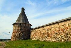Fortaleza del monasterio Fotos de archivo libres de regalías