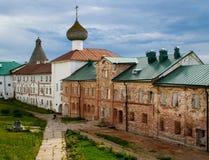 Fortaleza del monasterio Foto de archivo libre de regalías