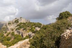 Fortaleza del Nimrod Fotografía de archivo libre de regalías