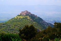 Fortaleza del Nimrod de Kal'at Imagen de archivo libre de regalías