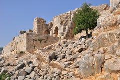 Fortaleza del Nimrod. (Israel norteño.) Imagen de archivo libre de regalías