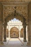 Fortaleza del rojo de Delhi Imagen de archivo