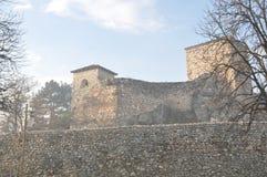 Fortaleza del ` s de Momchil del graduado de Momcilov, Pirot, Serbia foto de archivo