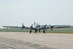 Fortaleza del vuelo B-17 imágenes de archivo libres de regalías