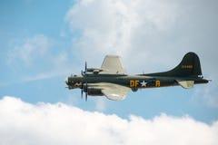 Fortaleza del vuelo B17 Foto de archivo libre de regalías