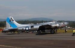 Fortaleza del vuelo B17 Imágenes de archivo libres de regalías