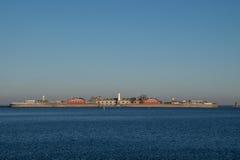 A fortaleza do mar de Trekroner, Copenhaga, Dinamarca Imagens de Stock Royalty Free