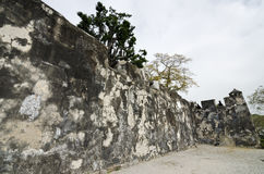 Fortaleza do Monte. In Macau. It is one of the designated sites of the Historic Centre of Macau enlisted on the UNESCO World Heritage List Royalty Free Stock Images