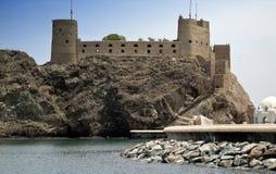 Fortaleza do Muscat fotos de stock