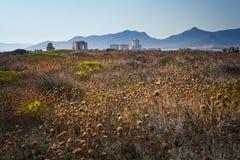 Fortaleza do otomano em Methoni, Grécia Fotos de Stock Royalty Free