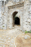 Fortaleza do Pasha de Ali, Parga Imagens de Stock Royalty Free