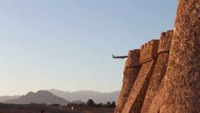 Fortaleza do tijolo no Sharm el Sheikh filme