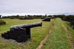 Fortaleza em Ancud, ilha de Chiloe, o Chile fotografia de stock