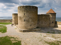 Fortaleza em Belgorod-Dnestrovskiy imagens de stock royalty free