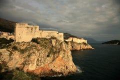 Fortaleza em Dubrovnik Foto de Stock