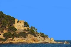Fortaleza em Lloret de Mar Fotografia de Stock Royalty Free