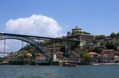 Fortaleza em Porto imagens de stock royalty free