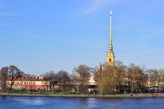 Fortaleza em St Petersburg Foto de Stock