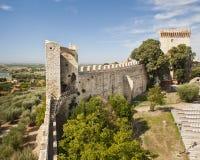 Fortaleza en Castiglione del Lago Fotografía de archivo libre de regalías