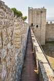 Fortaleza en Castiglione del Lago Foto de archivo libre de regalías