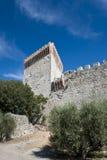 Fortaleza en Castiglione del Lago Imagen de archivo