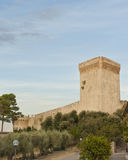 Fortaleza en Castiglione del Lago fotos de archivo