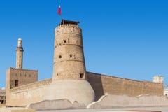 Fortaleza en Dubai EMIRATOS ÁRABES UNIDOS Imagen de archivo libre de regalías