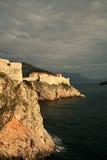 Fortaleza en Dubrovnik Foto de archivo libre de regalías