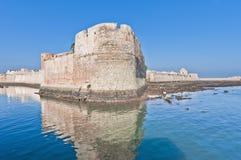 Fortaleza en EL-Jadidia, Marruecos de Mazagan Fotografía de archivo