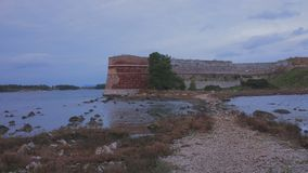 Fortaleza en el mar Foto de archivo libre de regalías