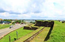 Fortaleza en Galle Sri Lanka Imagen de archivo libre de regalías