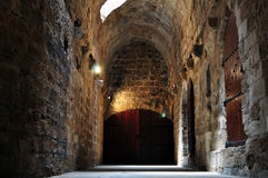 Fortaleza en la isla de Crete foto de archivo libre de regalías