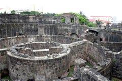 Fortaleza en Manila intramuros fotografía de archivo