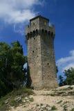 Fortaleza en San Marino Imagen de archivo libre de regalías
