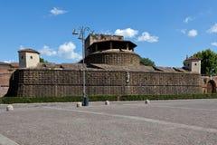 Fortaleza Florença do Basso de Fortezza a Dinamarca, Itália Fotos de Stock