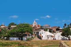 Fortaleza Galle, Sri Lanka, vista geral imagem de stock royalty free