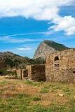 Fortaleza Genoese Imágenes de archivo libres de regalías