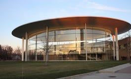 Fortaleza Hall, S C Johnson företag, Racine Wisconsin arkivbild