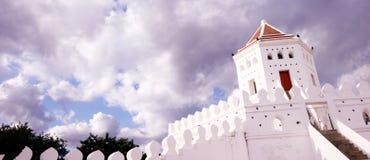 Fortaleza histórica antigua en Bangkok Fotografía de archivo