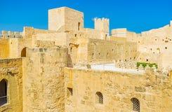 Fortaleza histórica de Ribat de Monastir Foto de archivo libre de regalías