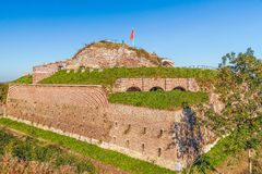 Fortaleza histórica do St Pieter na cidade de Maastricht netherlands imagens de stock royalty free