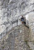 Fortaleza Hohensalzburg em Salzburg, Áustria Imagem de Stock