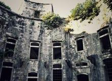Fortaleza interior de Mamula Imagenes de archivo