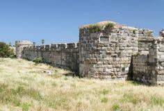 Fortaleza interna en la fortaleza de los caballeros del Johannites Imagenes de archivo