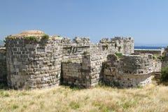 Fortaleza interna en la fortaleza de los caballeros del Johannites Imagen de archivo