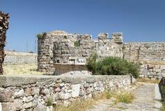 Fortaleza interna en la fortaleza de los caballeros del Johannites Fotos de archivo